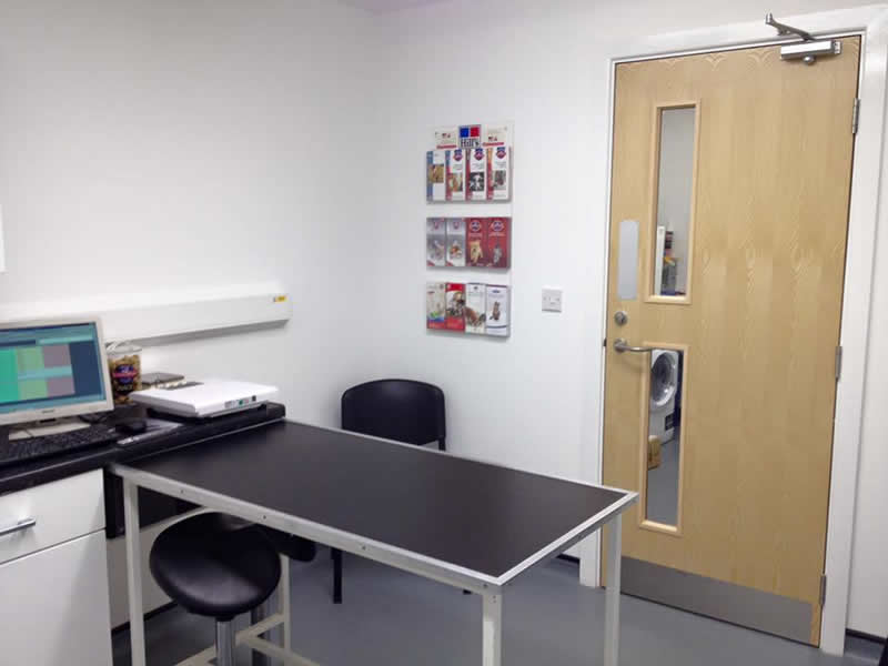Spondon Surgery consulting room