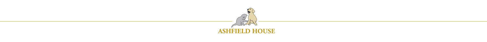ashfield house vet hospital in nottingham logo